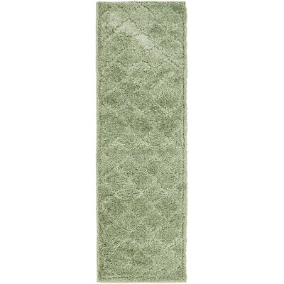 Moore Green Area Rug Rug Size: Rectangle 66 x 2
