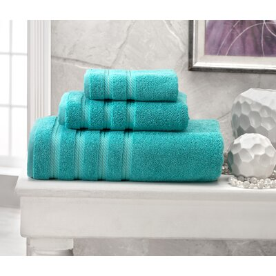 Antalya Hand Towel Color: Aqua