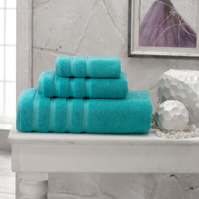 Antalya Wash Cloth Color: Aqua