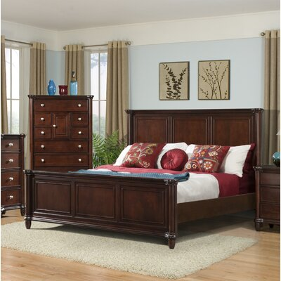 Bancroft Woods Panel Bed Size: King