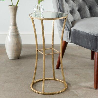 End Table Color: Gold Leaf