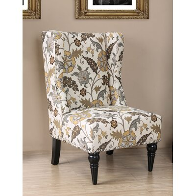 Anheuser Contemporary Wingback Chair Upholstery: Floral