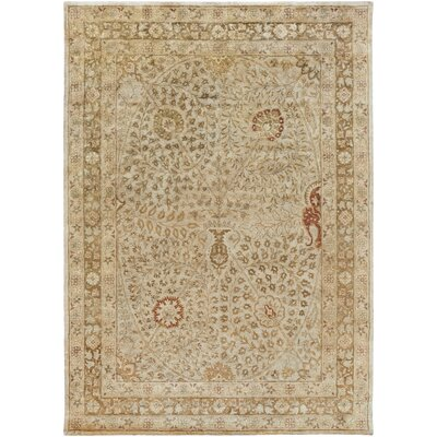 Anderle Beige Area Rug Rug Size: Rectangle 8 x 11