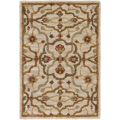 Burwood Parchment Rug Rug Size: Rectangle 2 x 3