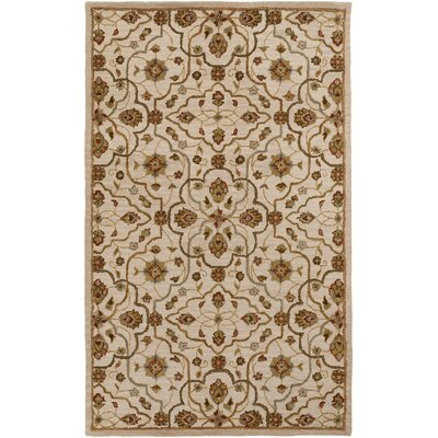 Burwood Parchment Rug Rug Size: Rectangle 5 x 8