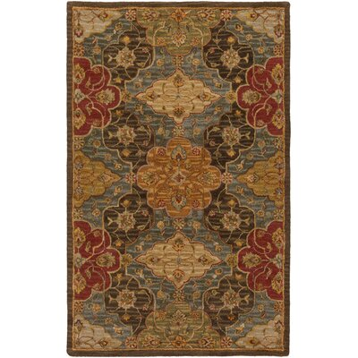 Burwood Fatigue Green Rug Rug Size: Rectangle 5 x 8