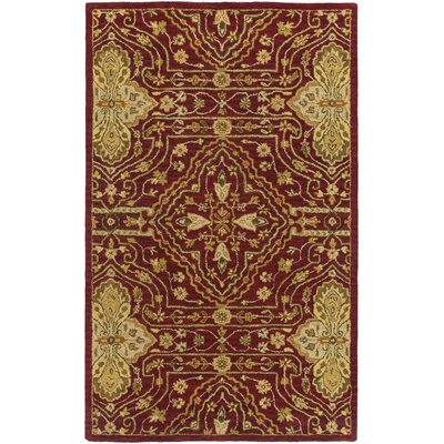 Burwood Dark Goldenrod Rug Rug Size: Rectangle 5 x 8