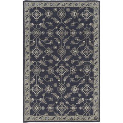 Langport Hand-Tufted Slate/Moss Area Rug Rug Size: Rectangle 5 x 76