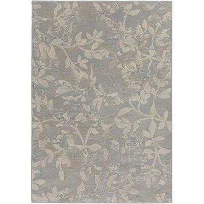 Franklin Gray/Beige Area Rug Rug Size: Rectangle 53 x 77