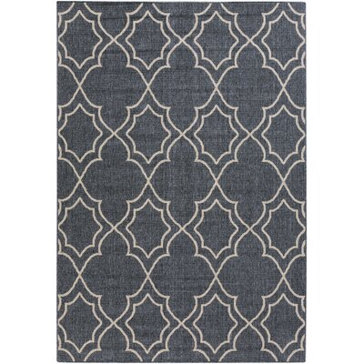 Amato Taupe Indoor/Outdoor Area Rug Rug Size: Rectangle 53 x 73