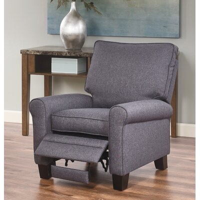 Bulwell Manual Recliner Upholstery: Gray