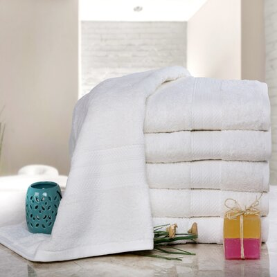 Cressex Absorb Cotton Bath Sheet Color: Ivory