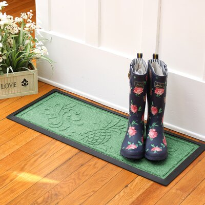 Keppler Pineapple Boot Tray Color: Light Green