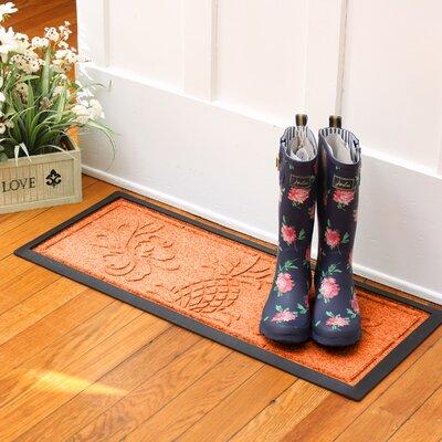 Keppler Pineapple Boot Tray Color: Orange
