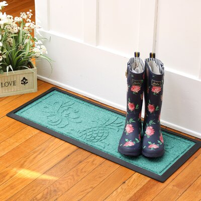 Keppler Pineapple Boot Tray Color: Aquamarine