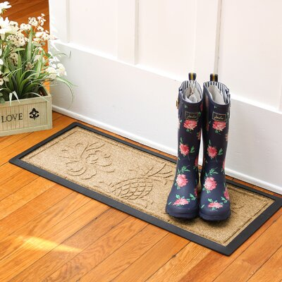 Keppler Pineapple Boot Tray Color: Gold