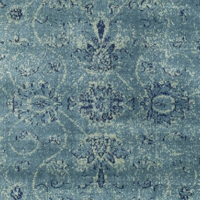 Benton Blue Area Rug Rug Size: Square 6