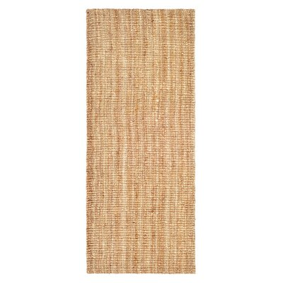 Gaines Hand-Woven Brown Area Rug Rug Size: Runner 2 x 6
