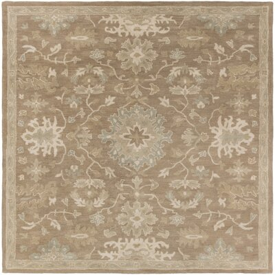 Whittaker Brown Area Rug Rug Size: Square 8