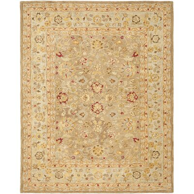 Ellison Brown Area Rug Rug Size: 96 x 136