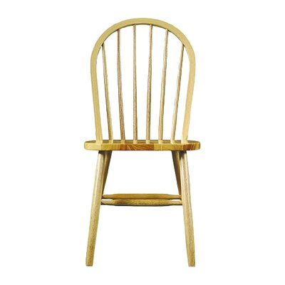Roselawn Spindleback Windsor Side Chair Finish: Natural