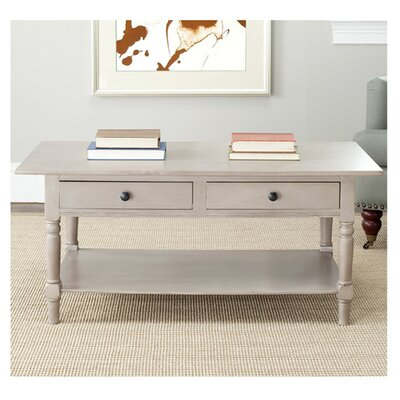 Hugh Coffee Table Color: Vintage Gray
