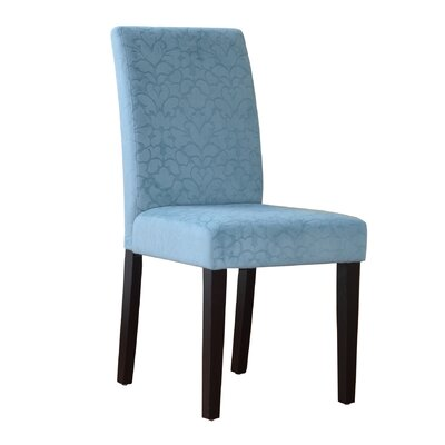 Blackwell Upton Parsons Chair (Set of 2) Finish: Blue