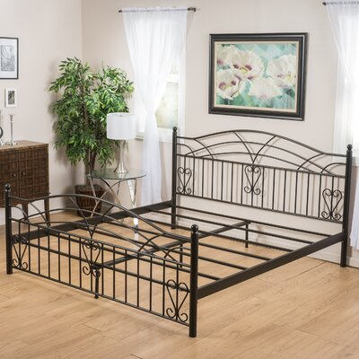 Westley Panel Bed Size: King