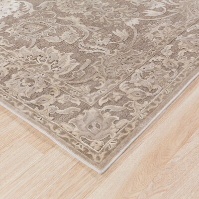 Mailou Gray & Parchment Area Rug