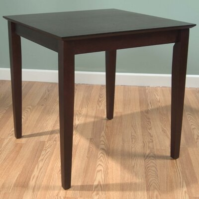 Letitia Lucille Dining Table Finish: Espresso Finish