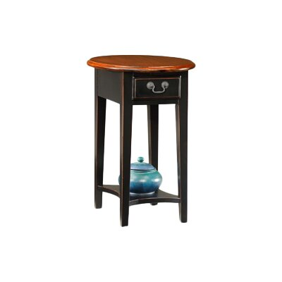 Apple Valley Oval End Table Finish: Slate