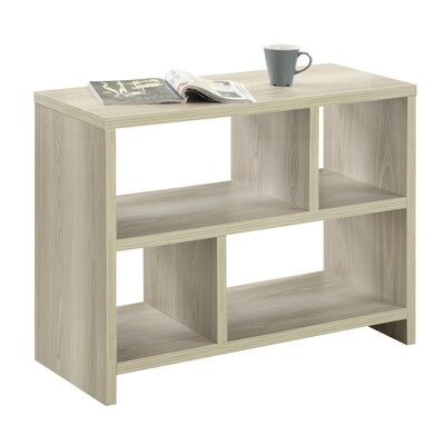 Rensselaer 38 TV Stand Color: Weathered White