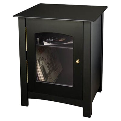 Entertainment Audio Cabinet Color: Black