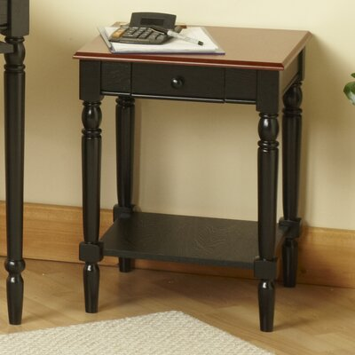 Carlisle End Table Top Finish: Brown