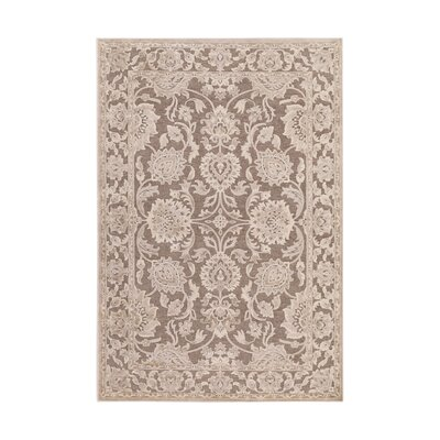 Mailou Gray & Parchment Area Rug Rug Size: 22 x 3