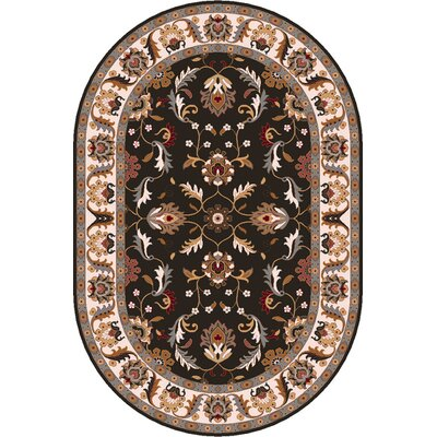 Waterston Brindle Area Rug Rug Size: Oval 8 x 10