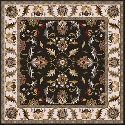 Waterston Brindle Area Rug Rug Size: Square 8