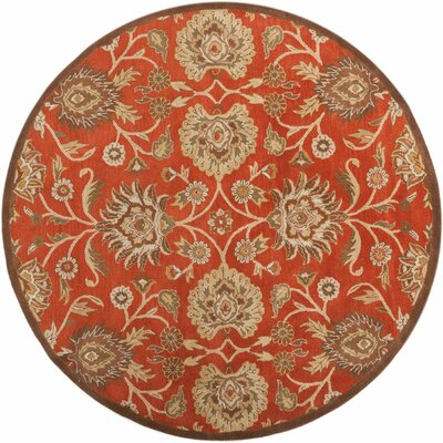 McLoon Coffee Bean Area Rug Rug Size: Round 99