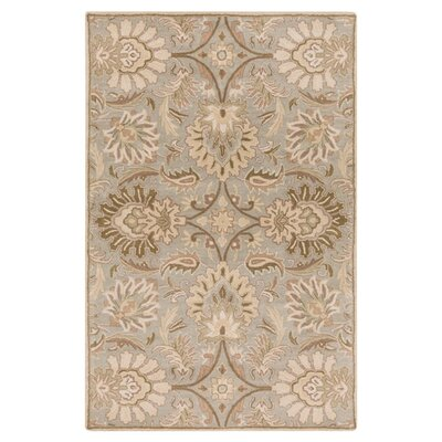 Camden Floral Blue Area Rug Rug Size: Rectangle 5 x 8