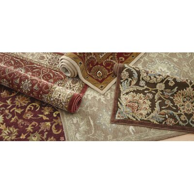 Smithson Chocolate/Beige Area Rug Rug Size: Runner 23 x 8