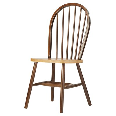 Roselawn Spindleback Windsor Side Chair Finish: Cinnamon / Espresso