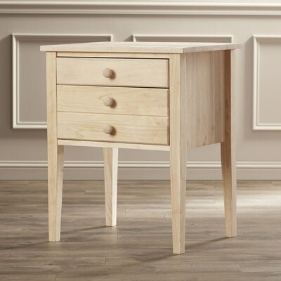 Lucretia Wood End Table