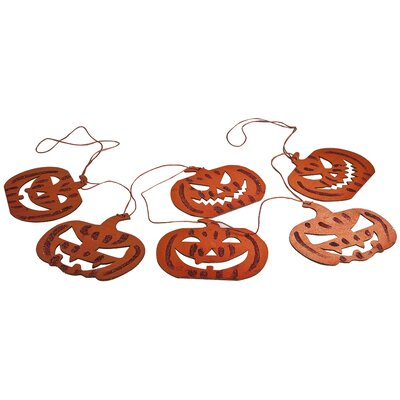 Charlton Home Pumpkin Garland
