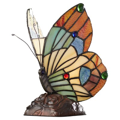 "Lucasta Butterfly 10"" H Table Lamp CHLH1222 25213491"