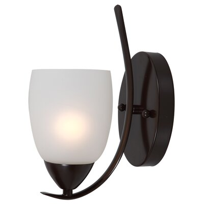 Monrovia 1-Light Wall Sconce Finish: Oil Rubbed Bronze