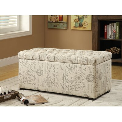 Ander Wood Storage Bedroom Bench