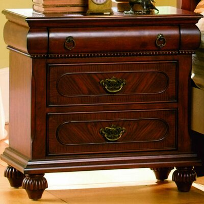 Andrewes 3 Drawer Nightstand