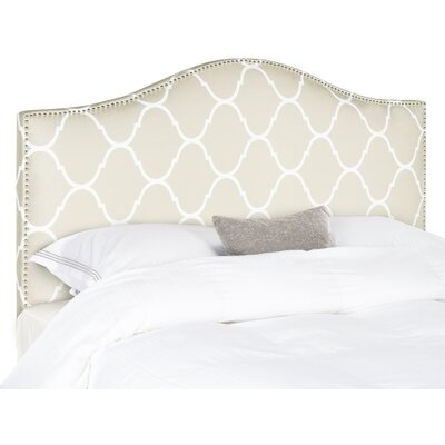 Albyn Upholstered Panel Headboard Size: Queen, Upholstery: Pearl Gray