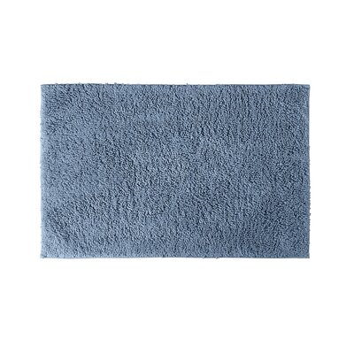 Roanoke Bath Rug Size: 30 x 50, Color: Sky Blue