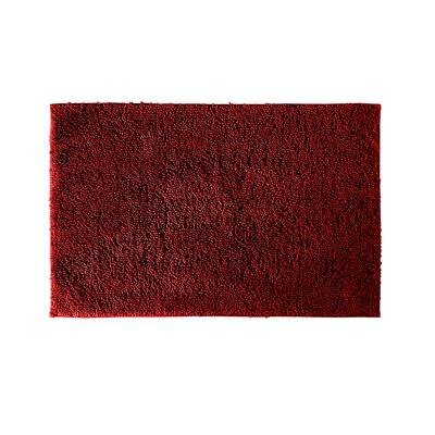 Roanoke Bath Rug Color: Chili Pepper Red, Size: 24 x 40